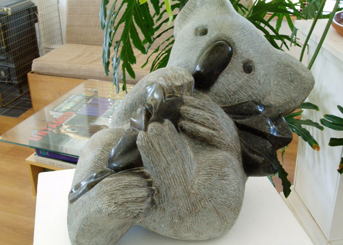 Laurence Broderick koala wildlife sculpture