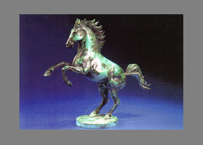 Laurence Broderick horse wildlife sculpture