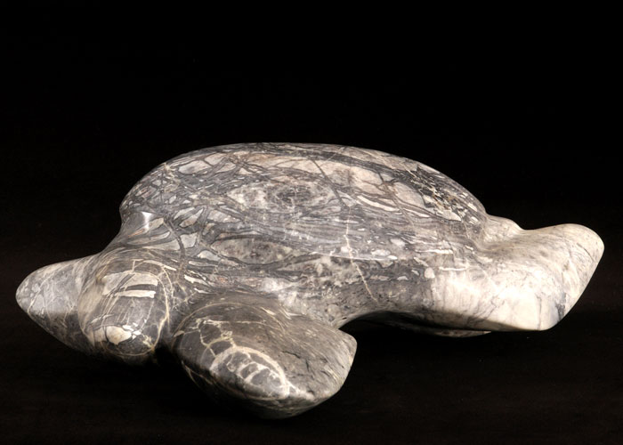 Laurence Broderick turtle wildlife sculpture